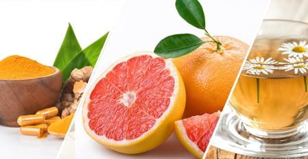 Kratom Potentiates Turmeric, pineapple and citrus tea