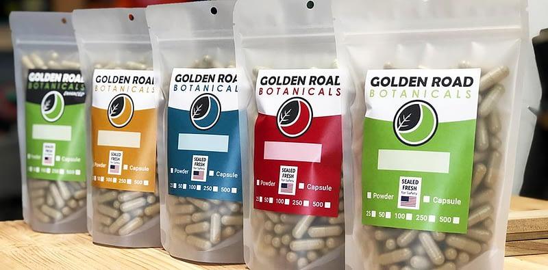 Golden Road Botanicals Products